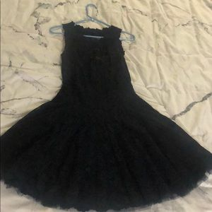 Olivi's Lace Collection Dress. Navy Blue